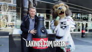 LA Kings Team up With Coca-Cola and STAPLES Center for Earth Month Recycling Drive