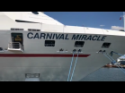Carnival Cruise Line Salutes Military Couples Aboard Carnival Miracle at Port Tampa Bay