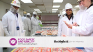 Smithfield Foods Releases Latest Section of 2017 Sustainability Report,  Shares New Programs and Companywide Commitment to Food Safety and Quality