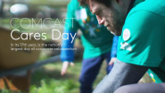 Thinking Green As We Make Change Happen on Comcast Cares Day