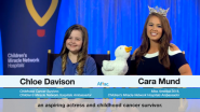 WATCH | Miss America 2018 Cara Mund Talks With Childhood Cancer Survivor Chloe Davison About My Special Aflac Duck
