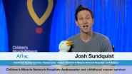 VIDEO | Paralympic Skier, Best-Selling Author, and Childhood Cancer Survivor Josh Sundquist Helps Spread the Word About My Special Aflac Duck™