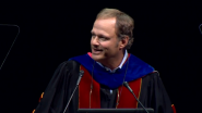 """What Were You Meant to Be?""  Andrew Hoffman Challenges Students at Loyola Convocation"