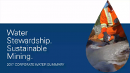 Water Stewardship in 2017 – Goldcorp's Corporate Water Summary