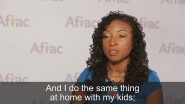 VIDEO | Aflac CSR Hero Tarisha Fields Makes Sustainability a Priority at Home and at Work