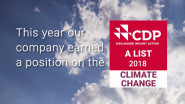 For the 8th Consecutive Year, Schneider Electric Is Proud to Be Recognized by the CDP Climate Change a List for Spearheading Corporate Action Against Climate Change