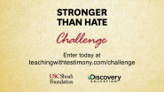 Discovery Education and USC Shoah Foundation Present Stronger Than Hate