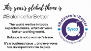 Sysco Celebrates International Women's Day 2019