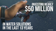The PepsiCo Foundation Expands Access to Safe Water for More Than 22 Million People Worldwide; Part of PepsiCo's Broader Aim to Contribute to Positive Water Impact