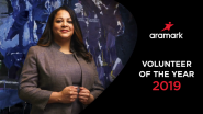 Aramark Names Diversity Champion Natily Santos, 2019 Service Star Volunteer of the Year for Extraordinary Volunteer Service
