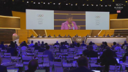 """You Punch Way Above Your Weight"" – Global Climate Leader Christiana Figueres Addresses IOC Session"