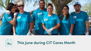 275 Volunteer Projects Completed During CIT Cares Month