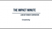 Watch Land Betterment Corporation's Impact Minute Episode 8