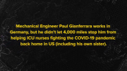 Spotlight on Paul Gianferrera: Improving Face Shields 4,000 Miles From Home