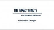 Watch Land Betterment Corporation's Impact Minute Episode 11