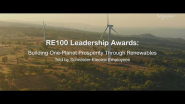 Schneider Electric Shortlisted for Clean Energy Trailblazer RE100 Leadership Awards 2020