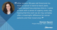 A Meaningful Difference for Cancer Patients and Loved Ones