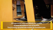 UPS News | UPS Teams With Atlanta-Area Organizations To Give Old Uniforms New Life