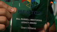 Grant Williams Receives Bill Russell Mentoring Legacy Award
