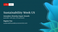 Your Free Invitation to the Economist's Sustainability Week US 2021 Conference