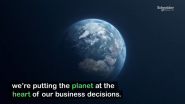 Sustainable Resource Commitment from Schneider Electric
